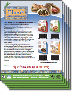Download this document to recommend our products to your local store, restaurant, school or hospital manager.