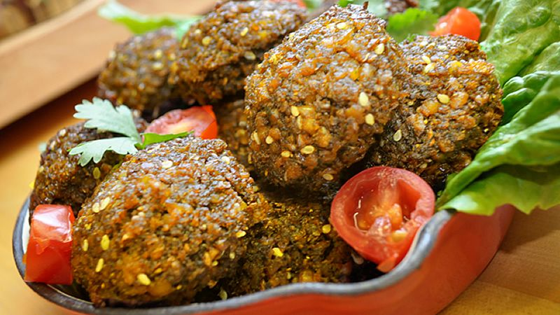 Eleni's Vegan Falafel are prepared for you using a unique natural proprietary process that, when reheated, are crispy on the outside while fluffy and full of flavor on the inside.